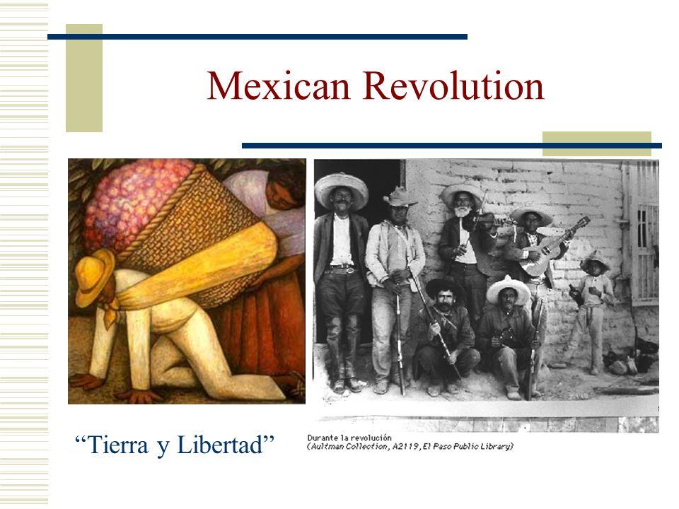 Mexican Revolution Tierra y Libertad