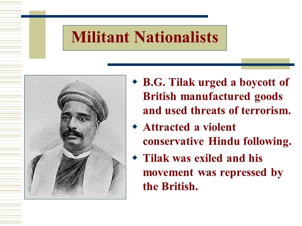 Militant Nationalists  B.G.
