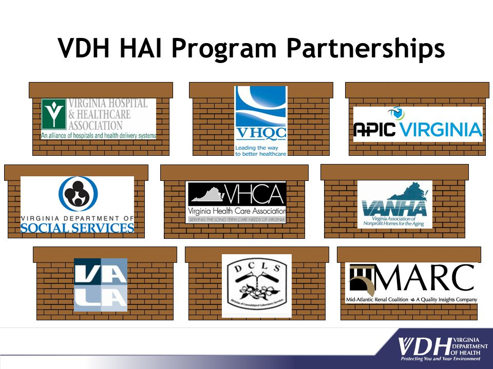VDH HAI Program Partnerships