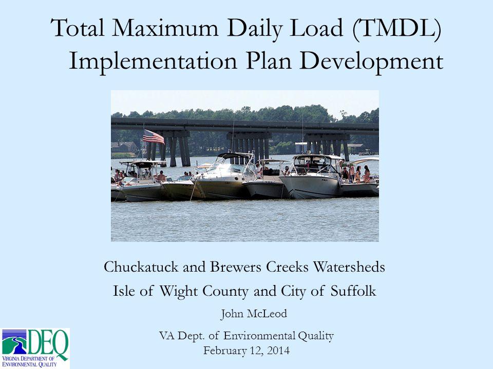 The TMDL Process: 3 Steps TMDL study (DEQ) TMDL implementation plan (DEQ) Implement plan (DEQ & partners)