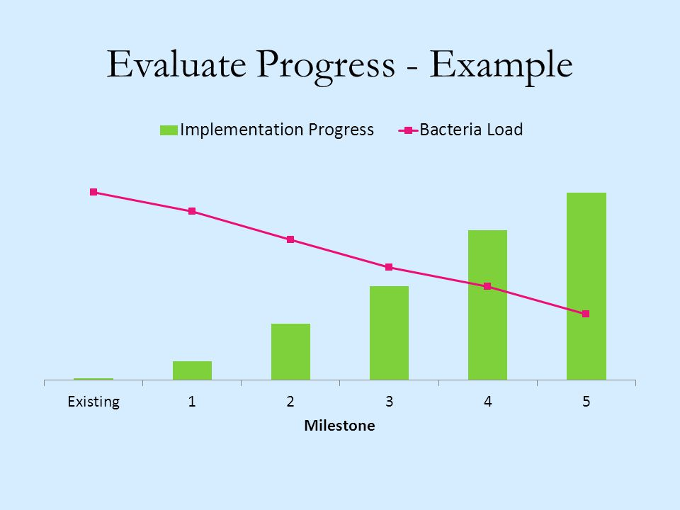 Evaluate Progress - Example