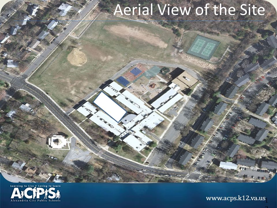 www.acps.k12.va.us Aerial View of the Site 12
