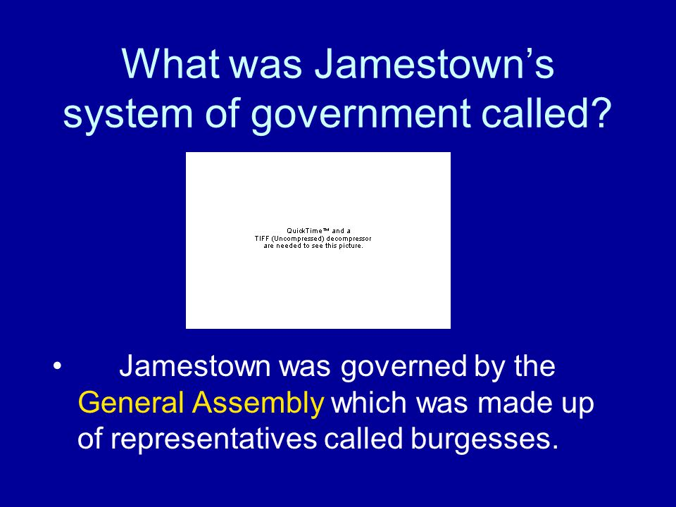 Why did the settlers choose the site at Jamestown.