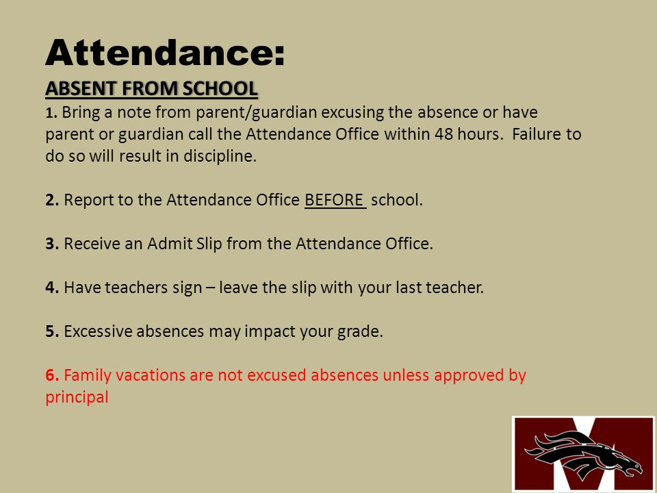 SCHOOL HOURS General School Rules: SCHOOL HOURS The doors to the school open to students at 8:00 AM.