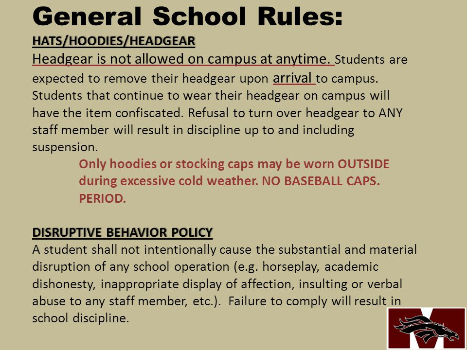 ELECTRONIC DEVICES / CELL PHONES / Nooks/IPads/IPods/MP3's General School Rules: ELECTRONIC DEVICES / CELL PHONES / Nooks/IPads/IPods/MP3's 1.