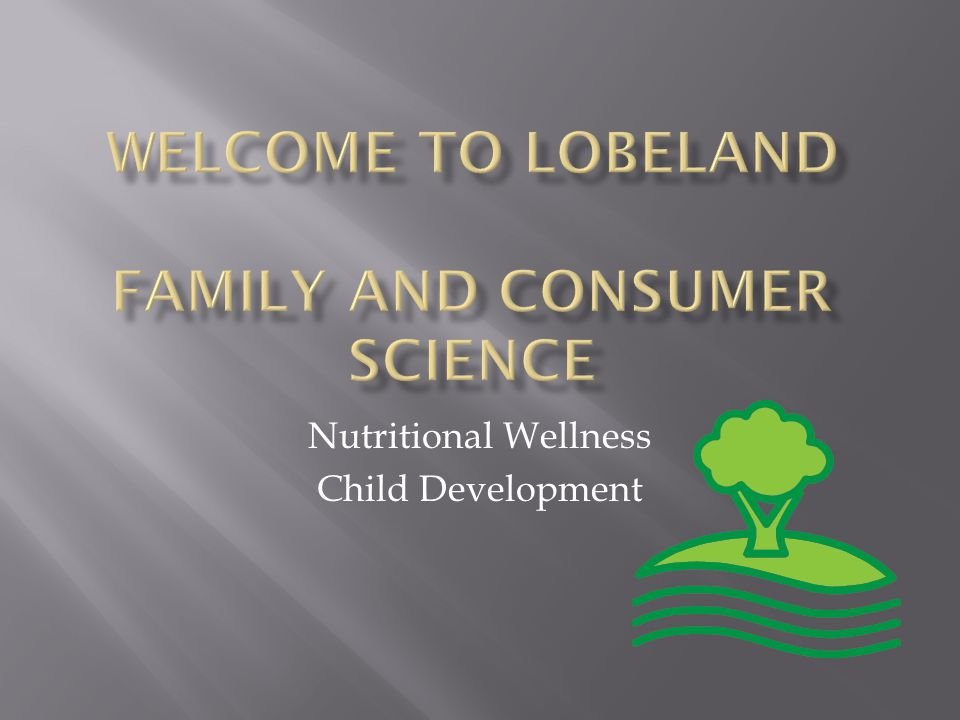 Nutritional Wellness Child Development