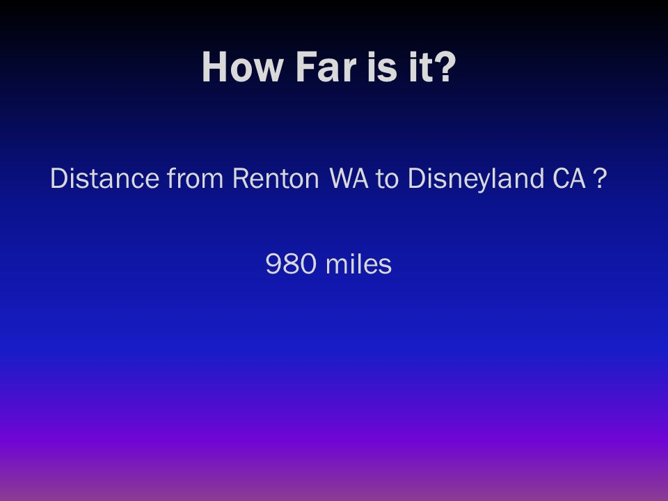 How Far is it? Distance from Renton WA to New York City NY ?