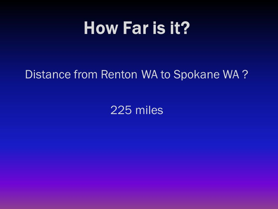 How Far is it? Distance from Renton WA to Disneyland CA ?