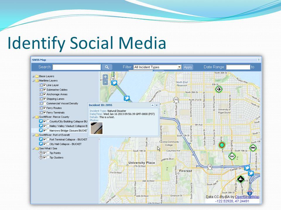Identify Social Media