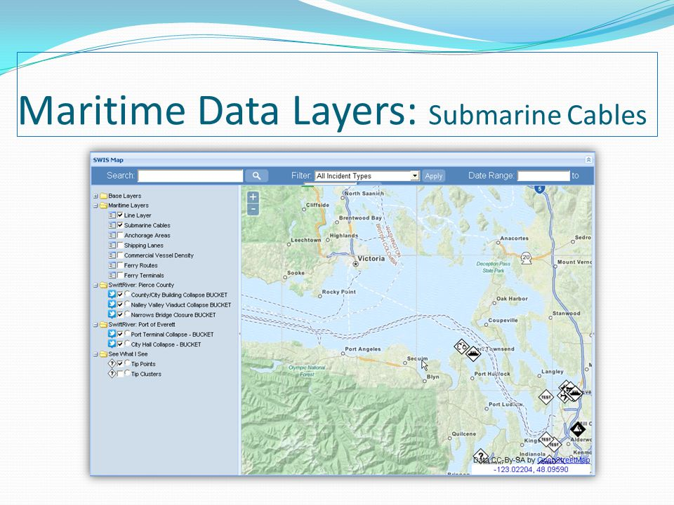 Maritime Data Layers: Submarine Cables