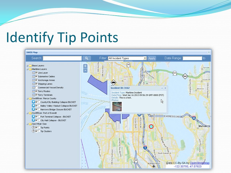 Identify Tip Points