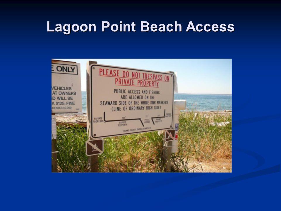 Lagoon Point Beach Access
