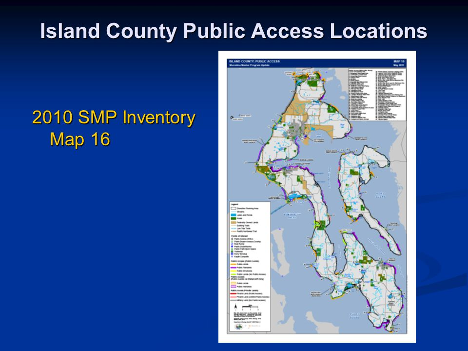 Island County Public Access Locations 2010 SMP Inventory Map 16