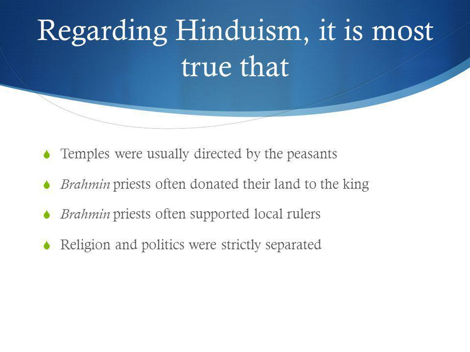 Which of the following is NOT an original caste.