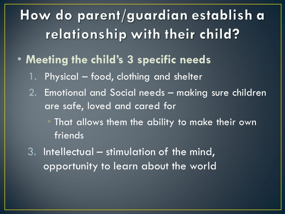 Children with relationships in the other categories have organized attachments.