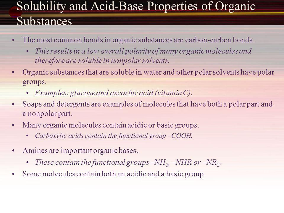 Introduction to Hydrocarbons The simplest class of organic molecules is the hydrocarbons.