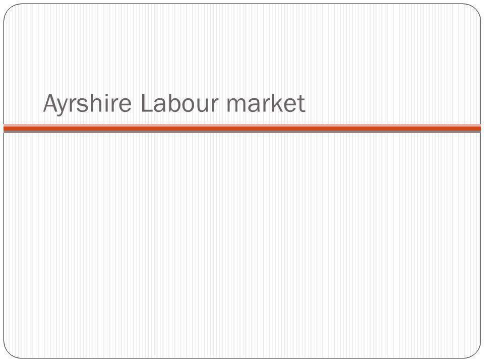 Ayrshire Labour market