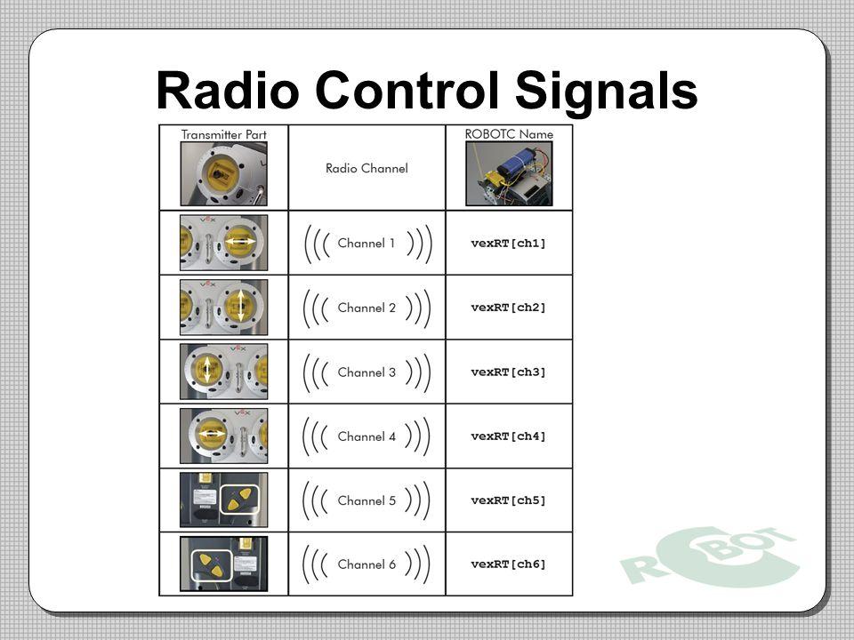 Radio Control Signals