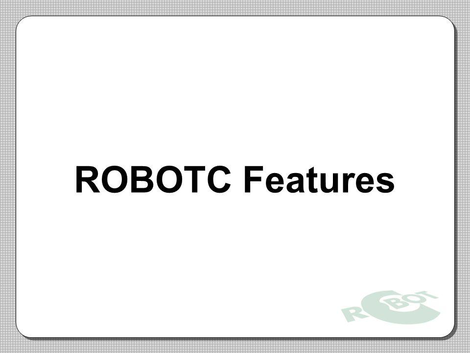 ROBOTC Features