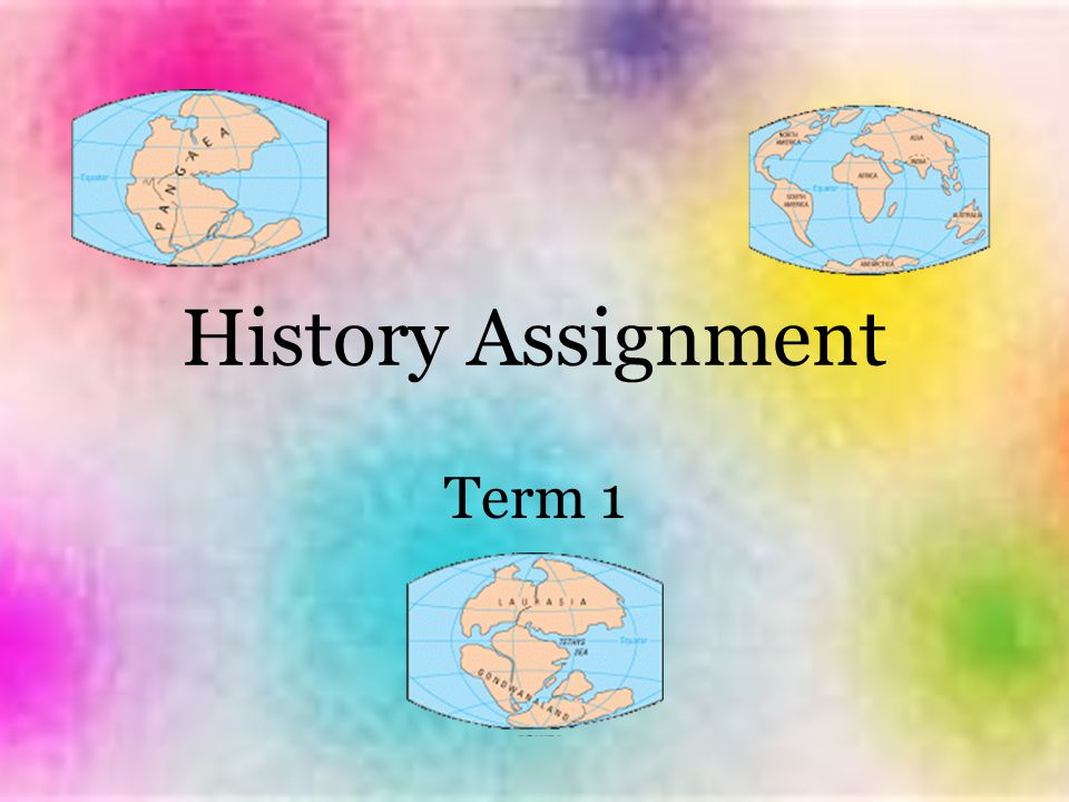 History Assignment Term 1