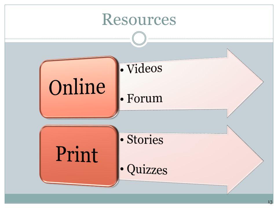 Resources 13