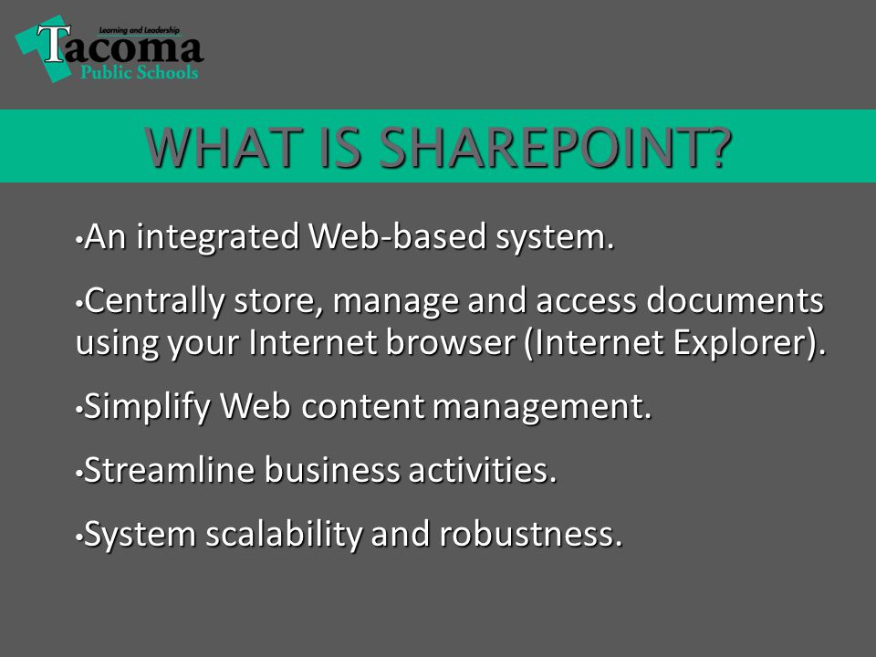 WHAT DOES SHAREPOINT HAVE TO DO WITH LAWSON?