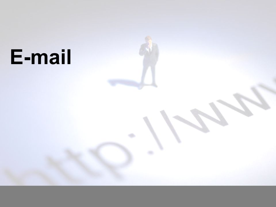 Today you will: Learn about how an e-mail is processed once it has been sent Learn some advantages and disadvantages of using e-mail Learn how to use e-mail correctly Learn how to prepare and send e-mails for different purposes