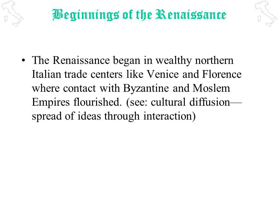 Renaissance Essay Questions