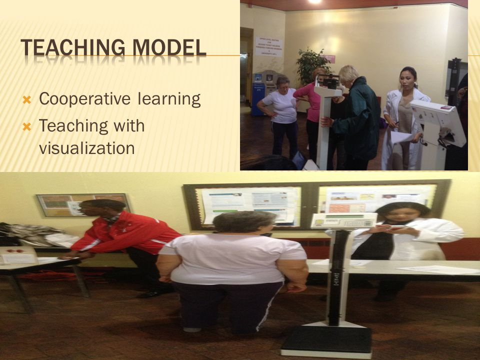  Cooperative learning  Teaching with visualization