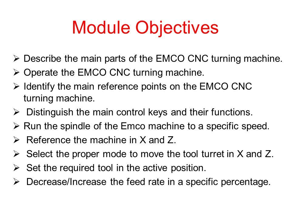 Main parts of the Turning (Lathe) machine