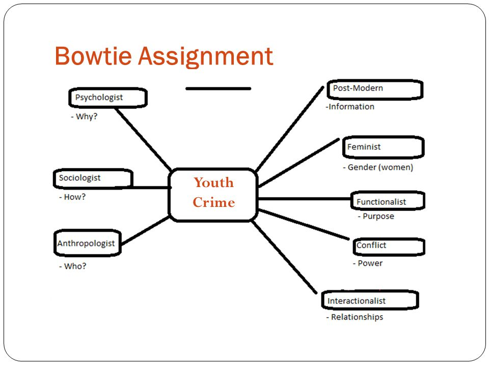 Bowtie Assignment Youth Crime