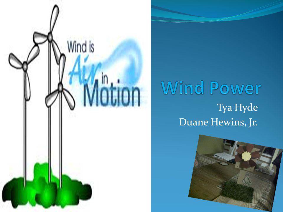 Tya Hyde Duane Hewins, Jr.