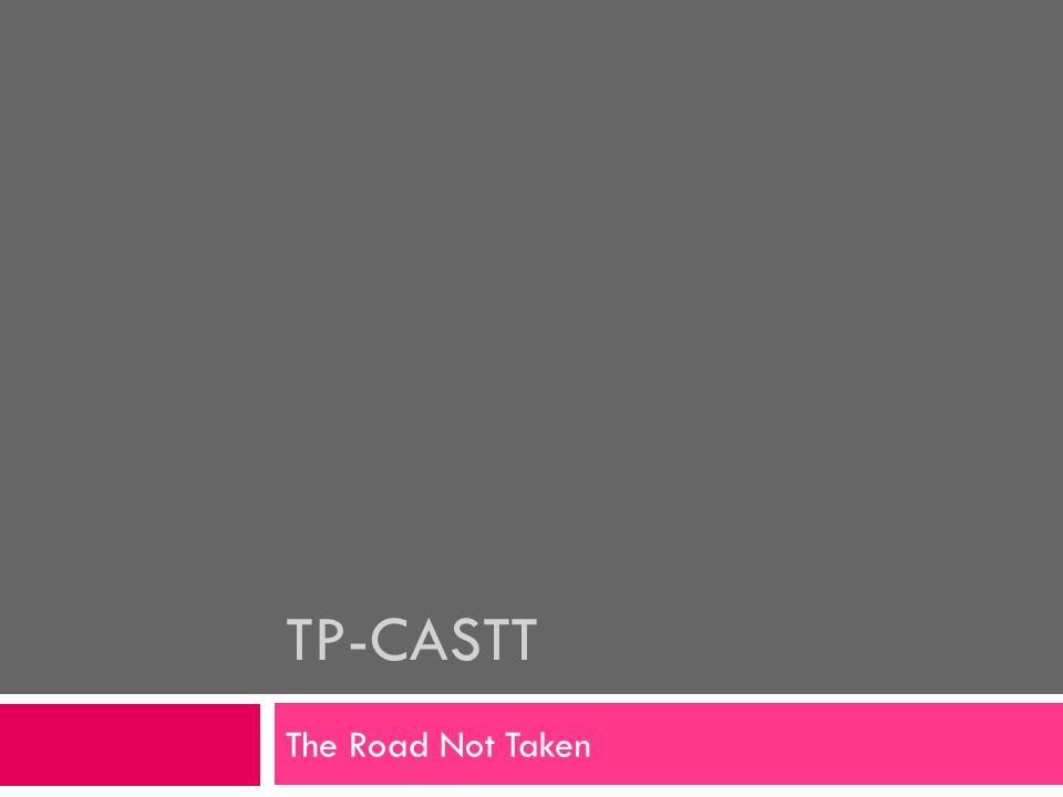 TP-CASTT The Road Not Taken