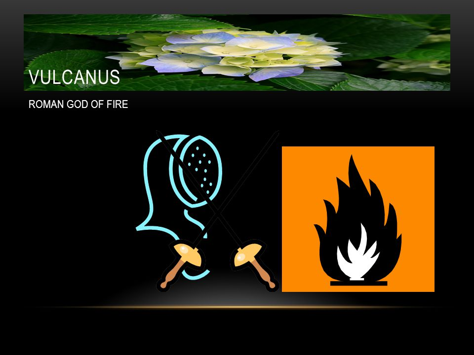 VULCANUS ROMAN GOD OF FIRE