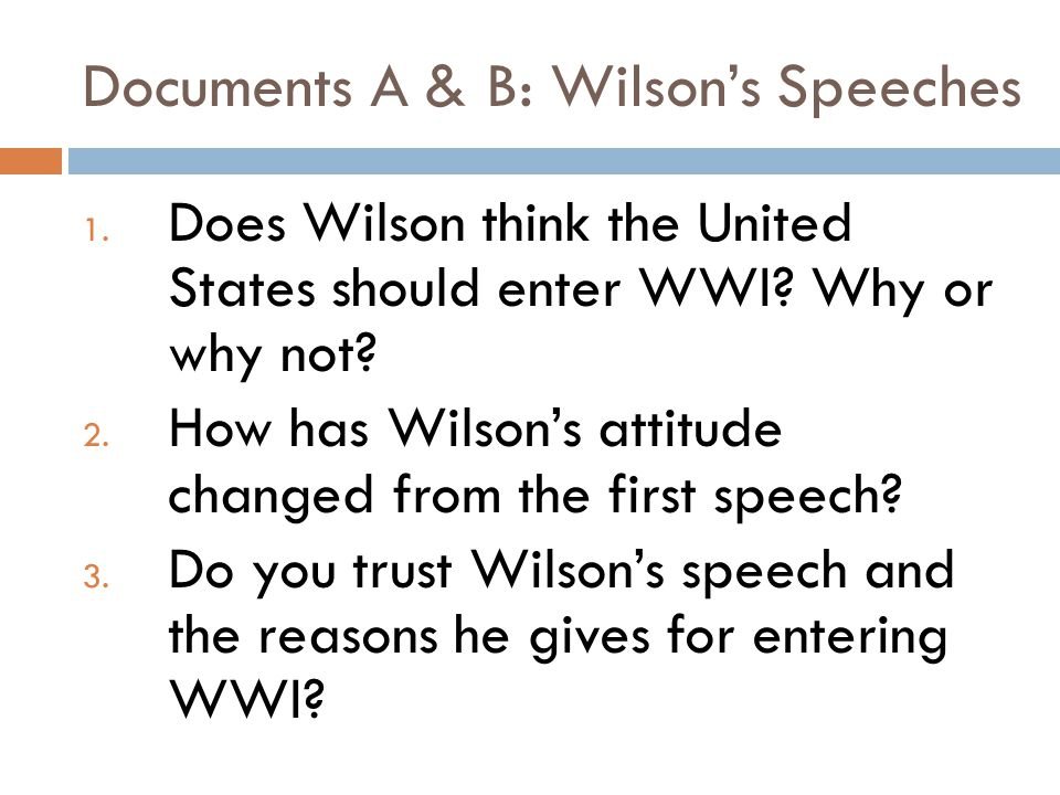 Textbook Excerpt (pgs.378-80) 1. What reasons does the textbook give for why the U.S.
