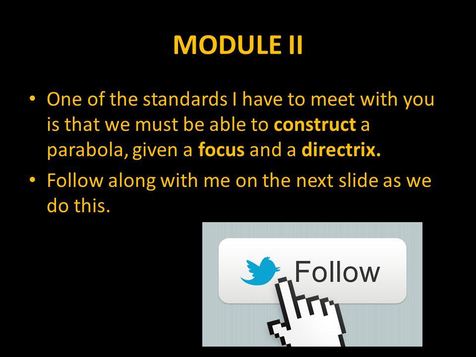 MODULE II