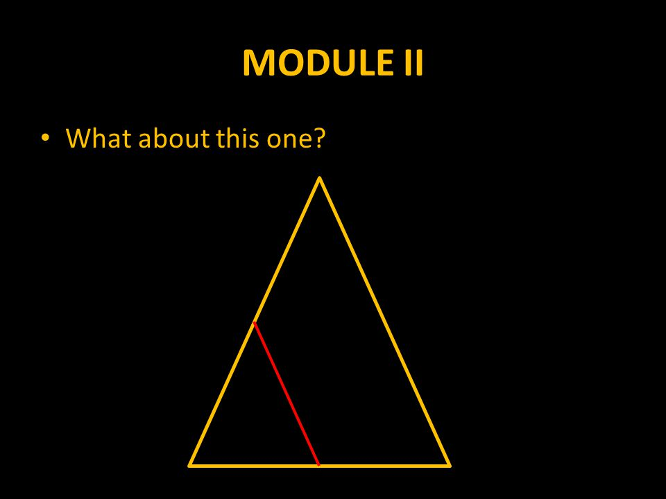 MODULE II What about this one