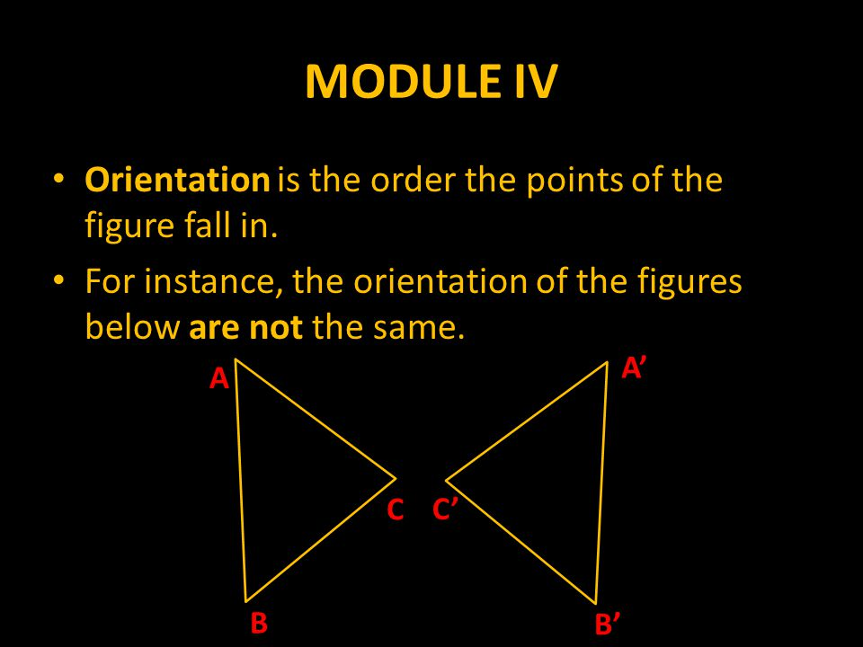 MODULE IV Area refers to the size of the area.