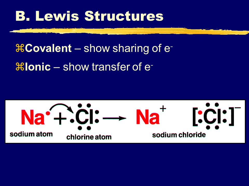 Quiz zAn ionic bond results from the electrical attraction between a.