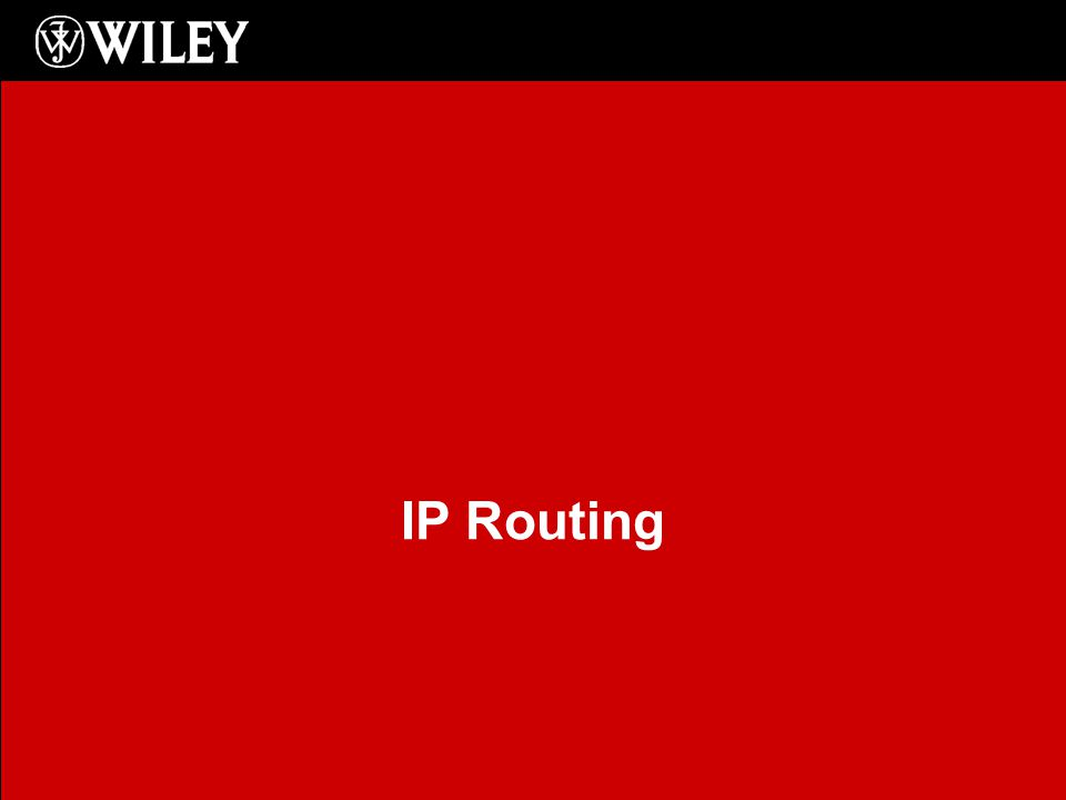 Chapter 8 Objectives Understanding IP routing Static routing Dynamic routing –RIP –RIPv2 –OSPF –EIGRP Verifying routing Router Security 2
