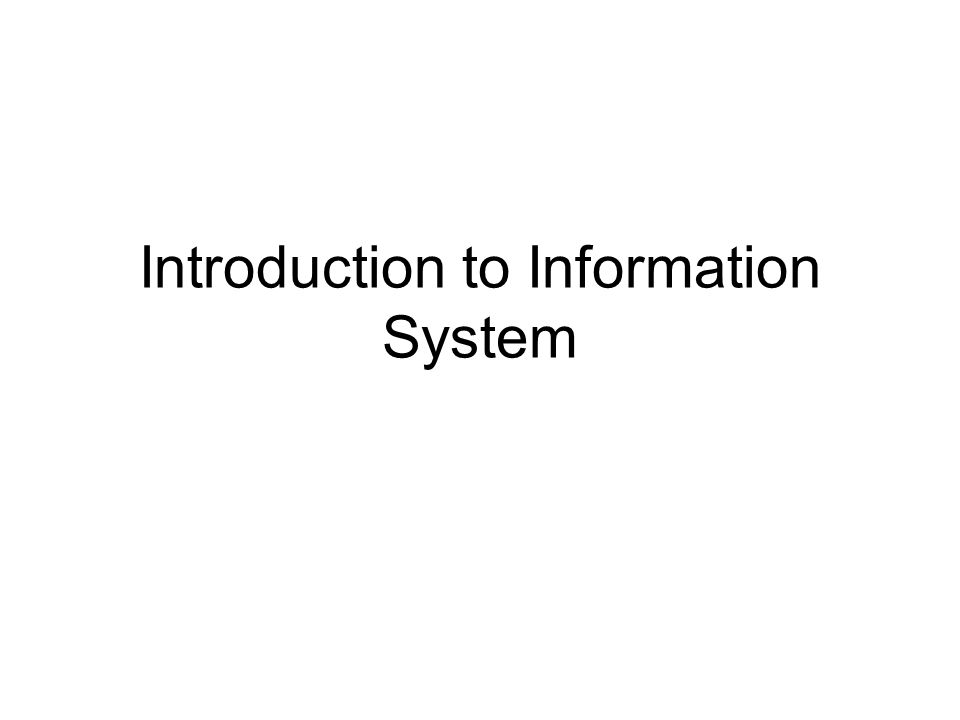 OIS Electronic Publishing System Electronic Communication System Electronic Collaboration System Image Processing System Office Management Systems Word-processing Email Video conferencing Electronic Meeting Teleconferencing Multimedia Systems Electronic Scheduling Task Management