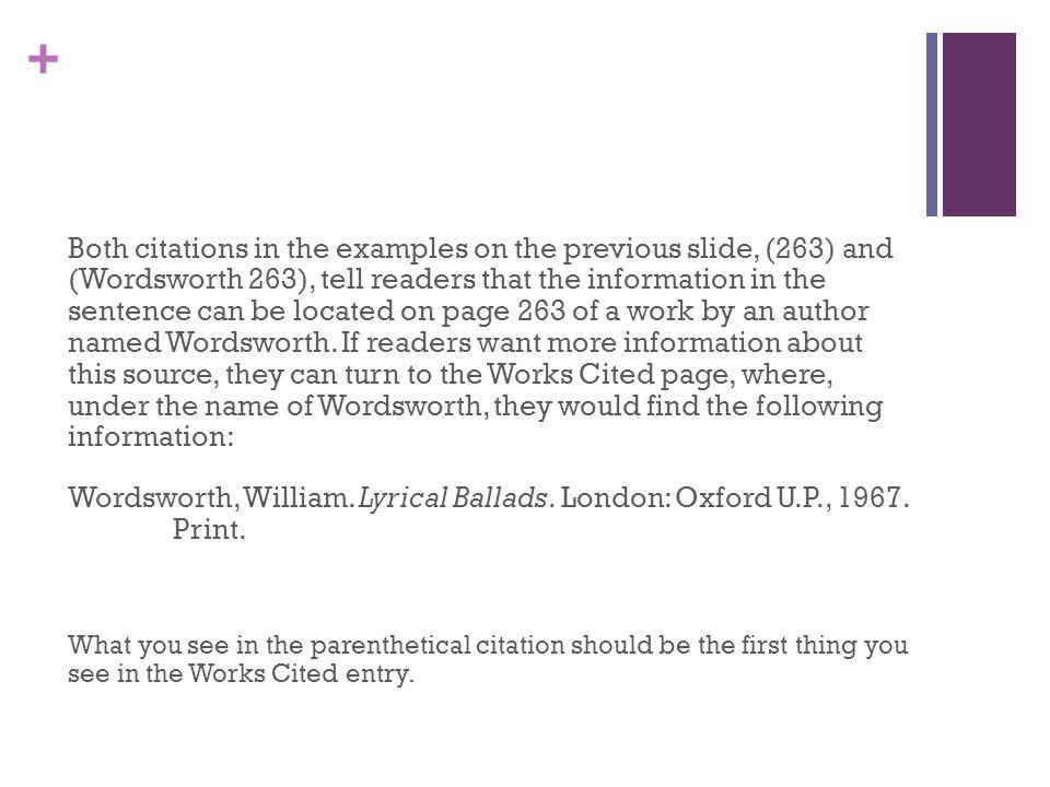 essays on william wordsworths use of symbols