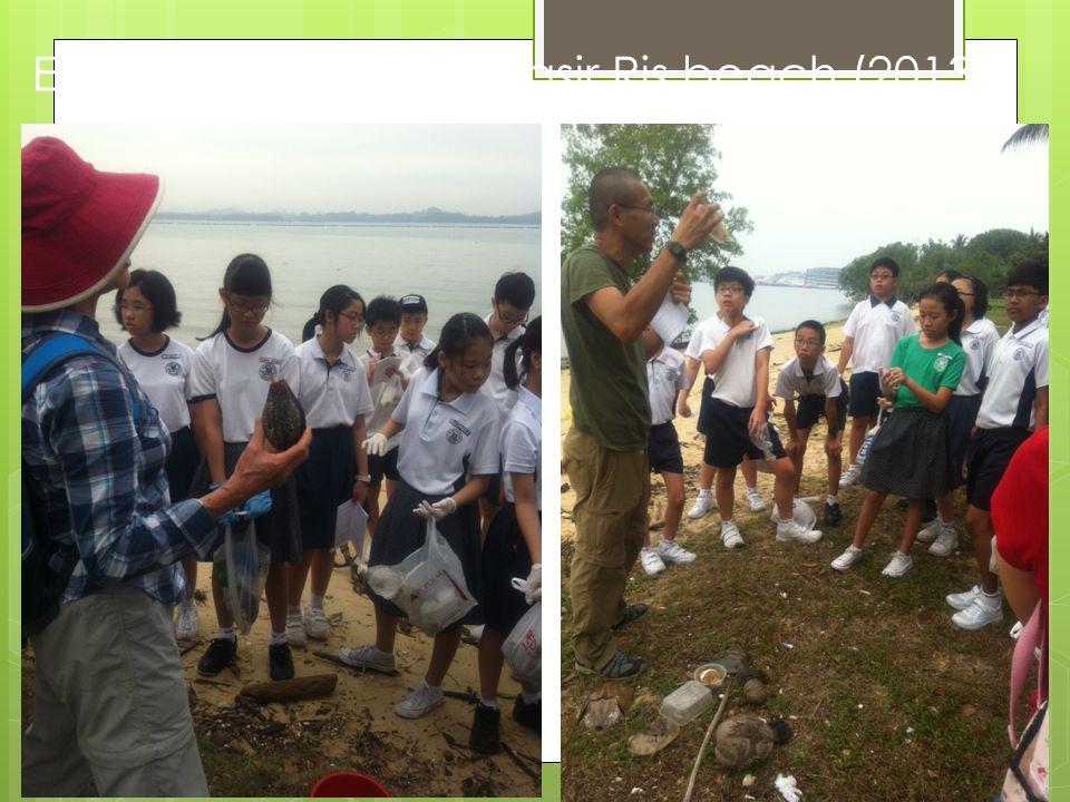 Ecology Program @ Pasir Ris beach (2013)