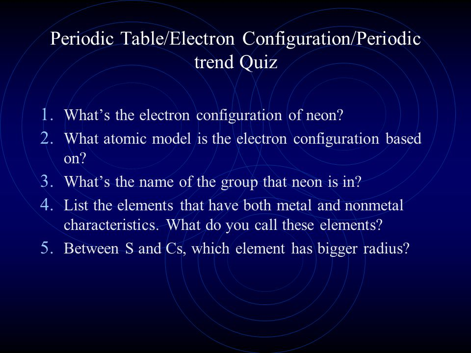 Why learn electron configuration.