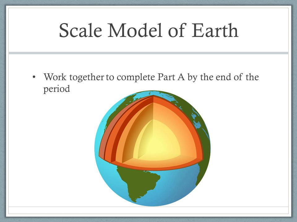 Warm Up Last week you learned that temperature increases toward the center of the Earth.