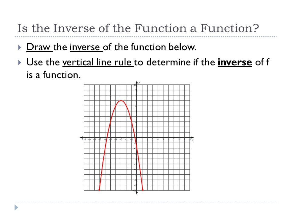 The horizontal line rule  Horizontal line in the original becomes a vertical line in the inverse: