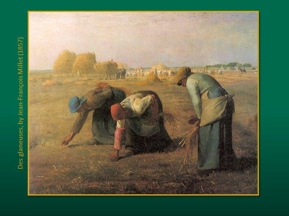 Des glaneuses, by Jean-François Millet (1857)