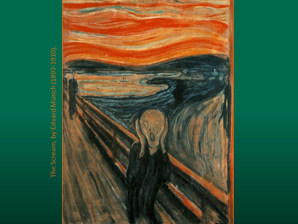 The Scream, by Edvard Munch (1893-1910).