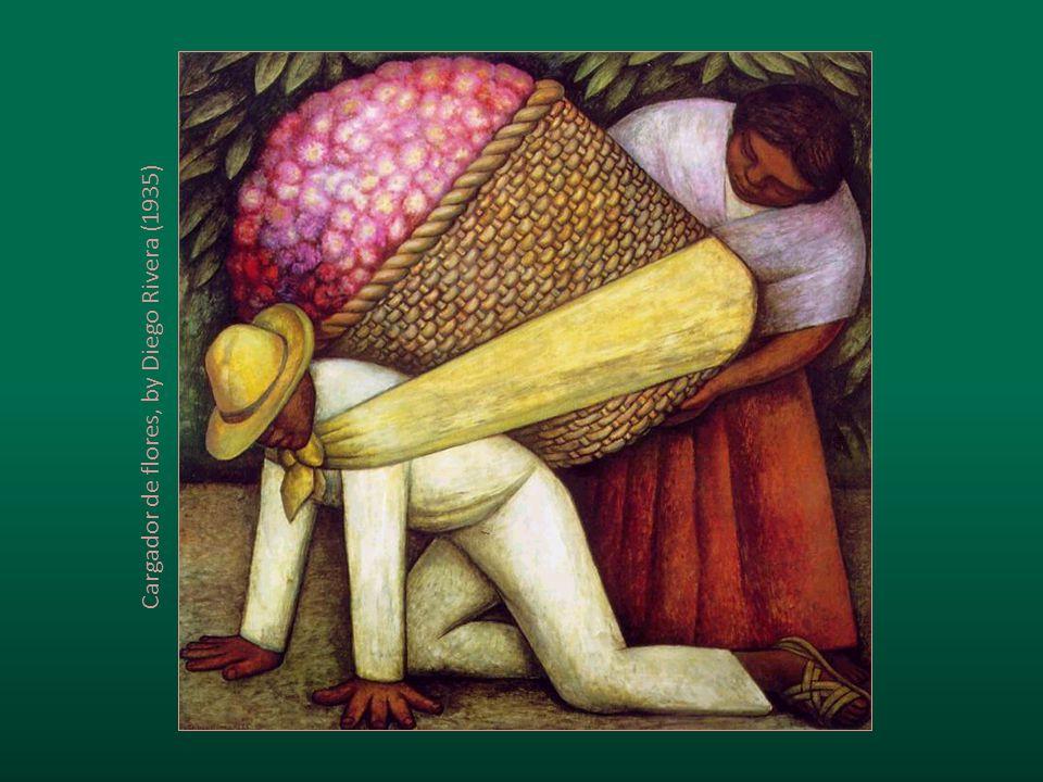 Cargador de flores, by Diego Rivera (1935)