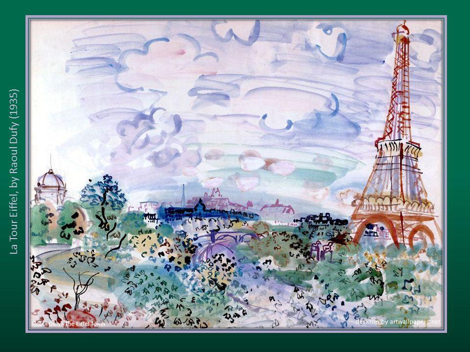 La Tour Eiffel, by Raoul Dufy (1935)